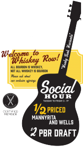 Whiskey Kitchen Social Hour